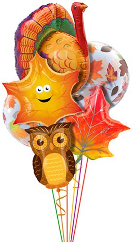 Decorating Ideas > Thanksgiving Fall Boss Day Balloon Delivery And Decoration  ~ 061918_Thanksgiving Balloon Decorations