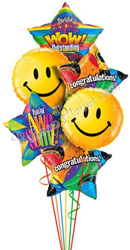 Congrats Congratulation Balloon Delivery And Decoration